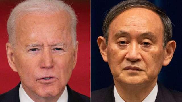 菅義偉敲定15至18日訪美 將與拜登商討中國問題等 (圖片:AFP)