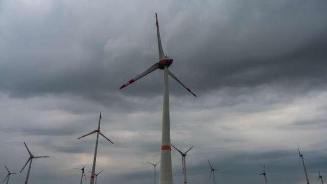 海龍離岸風電計畫今(13)日宣布通過經濟部國產化審查。(圖:AFP)