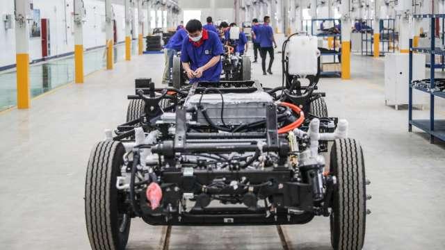 積極搶進電動車 傳騰訊與廣汽集團將加強戰略合作(圖片:AFP)