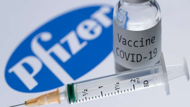 嬌生疫苗喊卡 輝瑞:5月底前多供應10%疫苗(圖片:AFP)