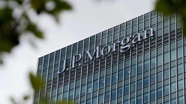 〈財報〉小摩釋出5.2億美元貸款損失準備金 Q1淨利大增4倍 (圖:AFP)