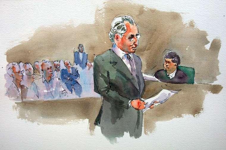 紐約檢察官 2008 年以詐欺罪起訴馬多夫 (圖片:AFP)