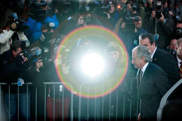美國史上最大龐氏騙局主腦馬多夫 (圖片:AFP)