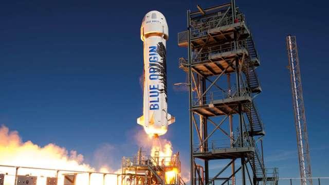 貝佐斯太空公司藍色起源第15次試飛 載人升空前的「驗證步驟」(圖片:AFP)