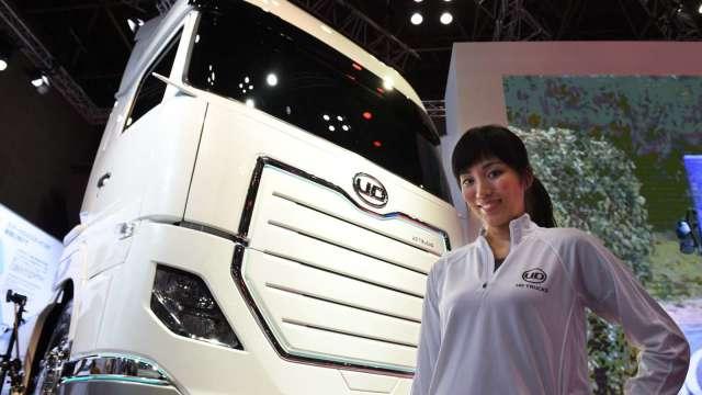 車用晶片短缺 日本UD卡車加入減產行列 (圖片:AFP)