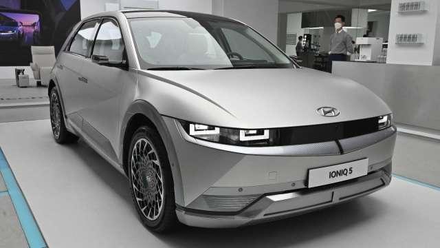 現代汽車計劃從2022年開始 每年都在中國推出電動車(圖片:AFP)