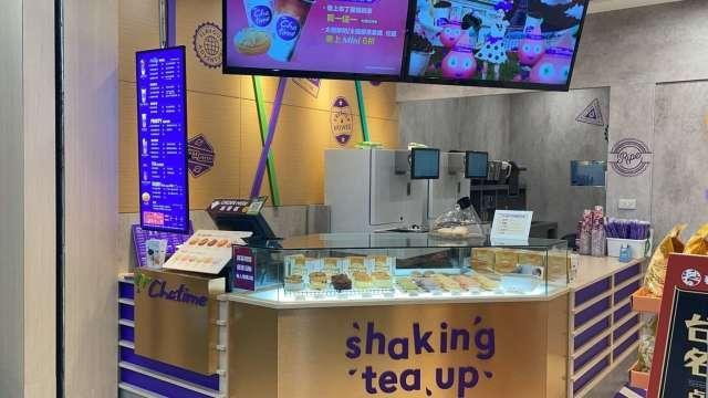 日出茶太雙品牌全新概念店。(圖:六角提供)