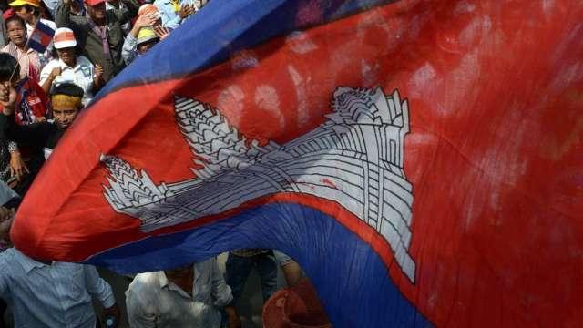 柬埔寨疫情趨嚴,政府宣布自4/15封城至4/28。(圖:AFP)