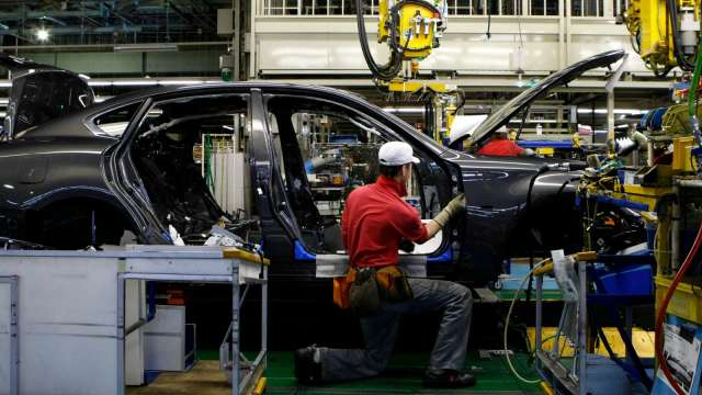 晶片荒難解 日產汽車傳5月大砍日本廠產能(圖片:AFP)