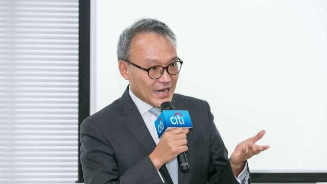 花旗(台灣)董事長莫兆鴻。(圖:花旗提供)