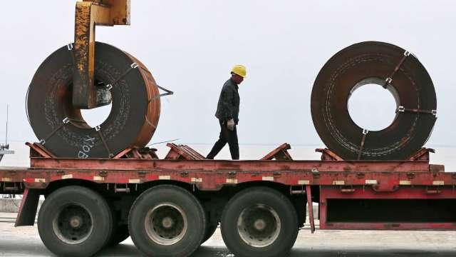 北京當局要求減少排放 中國3月鋼鐵生產不減反增(圖:AFP)