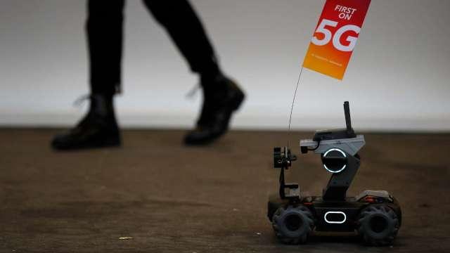 為遏制中國主導 印歐下月峰會將聚焦5G技術標準 (圖:AFP)