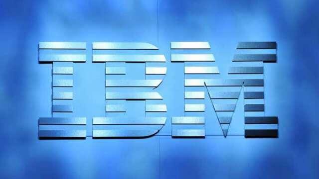 商用需求回溫助攻 IBM Q1大幅優於市場預期 盤後漲逾3%(圖:AFP)