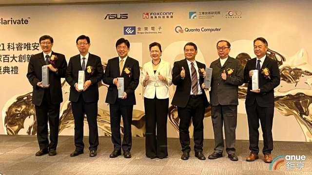 科睿唯安百大創新機構台灣獲選機構創新高,四企業下屆可望入選。(鉅亨網記者劉韋廷攝)