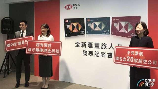 滙豐(台灣)銀行積極拓展信用卡市場。(鉅亨網資料照)