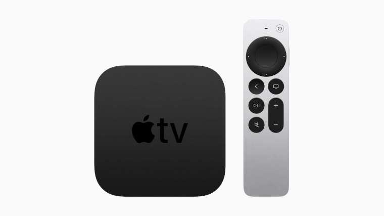 新一代 Apple TV 4K 搭載 A12 Bionic 晶片 (圖片:蘋果)