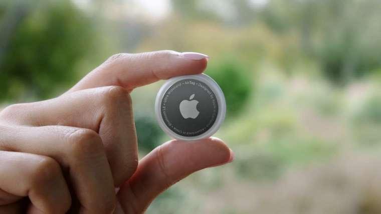 AirTa 內建 Apple U1 晶片 (圖片:蘋果)