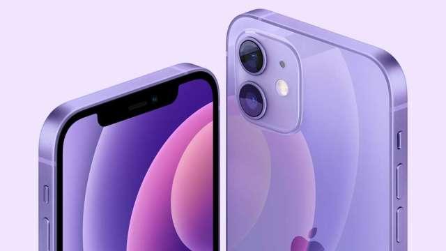 春意盎然!蘋果紫色版iPhone 12來了 週五開放預購。(圖片:AFP)