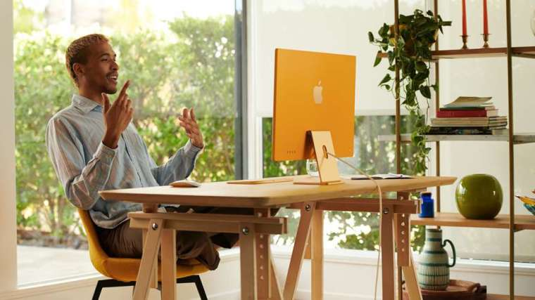 新 iMac 整體變得更加輕薄、噪音也變得更小 (圖片:蘋果)