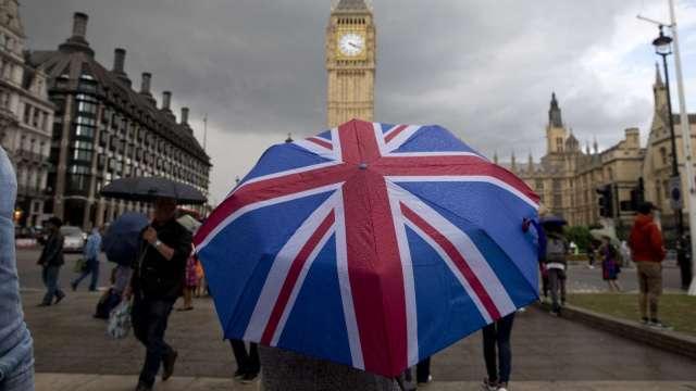 英國3月CPI年增0.7% 但仍低於市場預期(圖片:AFP)