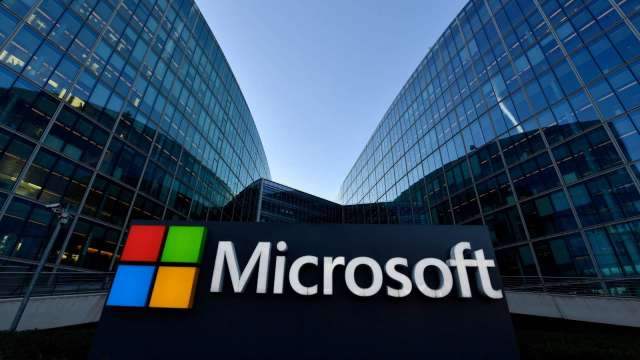 〈微軟財報前瞻〉3大業務強勢成長 華爾街心頭一震 下週股價可望創新高 (圖片:AFP)