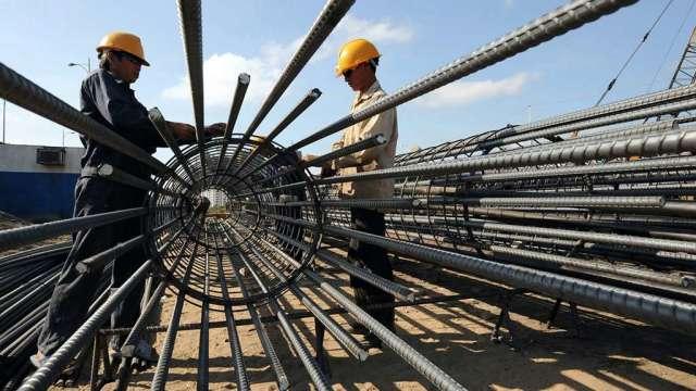 國際鋼價漲勢兇猛 中鴻內外銷盤價漲勢擴大。(示意圖:AFP)
