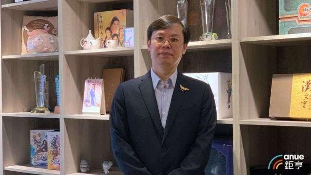 大宇資董事長凃俊光。(鉅亨網記者林薏茹攝)