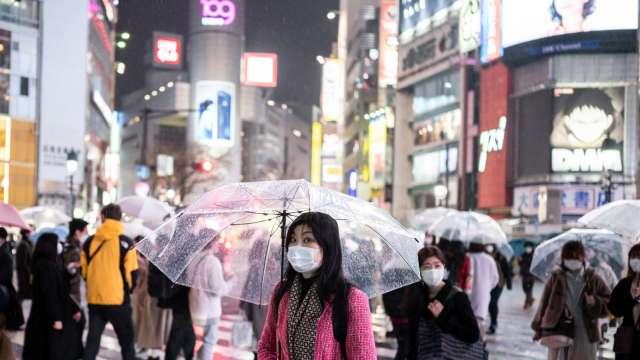 日本3月核心CPI報年減0.1% 合乎市場預期 (圖片:AFP)