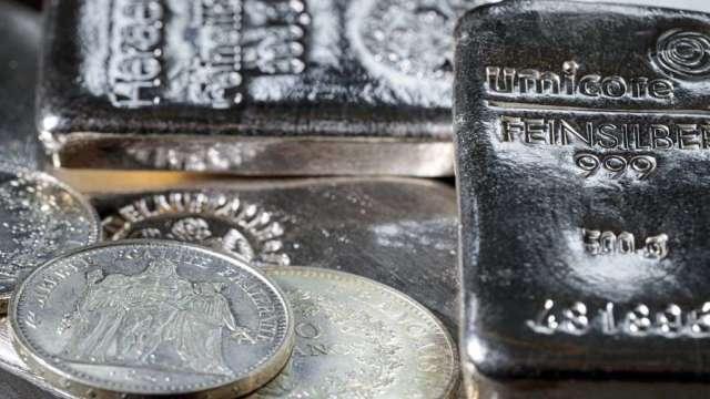 白銀協會:今年白銀需求將升至2015年以來最高 帶動價格上漲(圖:AFP)