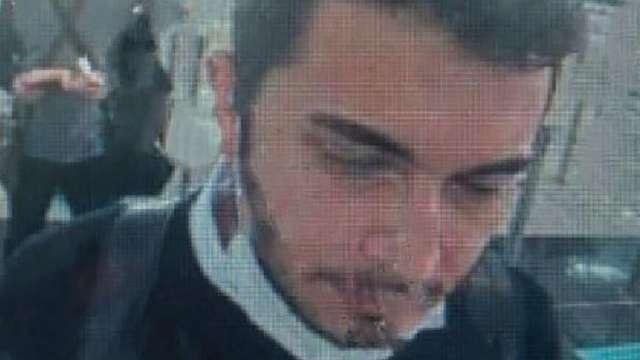 加密交易所CEO離開伊斯坦堡機場的 CCTV 畫面。(圖片:AFP)