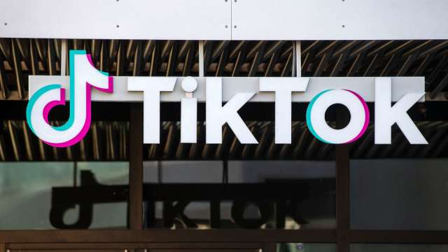 TikTok母公司字節跳動否認上市計畫。(圖片:AFP)