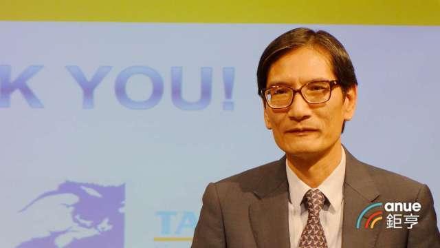 泰昇-KY董事長戴朝榮。(鉅亨網記者張欽發攝)