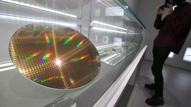 台勝科受惠矽晶圓需求暢旺。(圖:AFP)