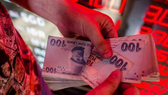 土耳其里拉續貶 匯率已逼近歷史低點(圖:AFP)
