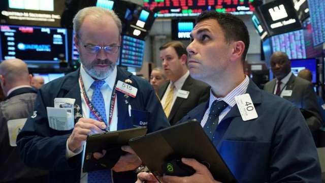 科技巨頭財報本周揭曉 美股小幅高開 特斯拉漲超2%(圖:AFP)
