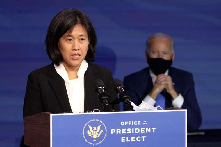 美國貿易代表戴琪。(圖: AFP)