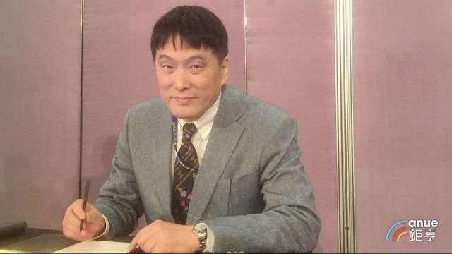 大統益董事長羅智先。(鉅亨網記者張欽發攝)