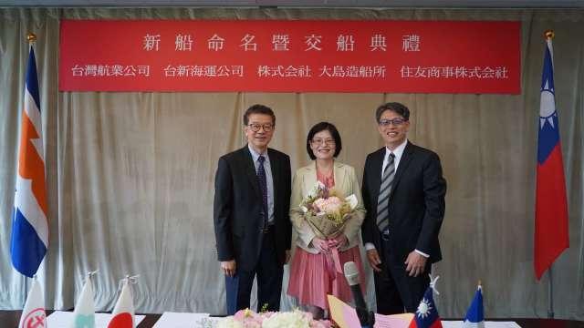 台航董事長劉文慶(左)。(圖:台航提供)