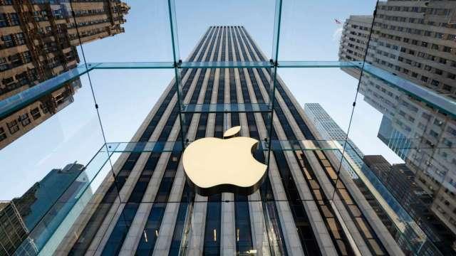 華爾街看好蘋果財報報喜 Q2營收年增估逾30% (圖:AFP)