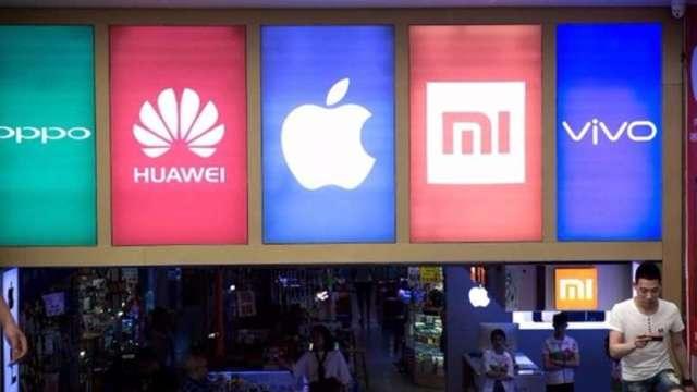 2017年來首見成長 Q1中國手機出貨年增27% vivo奪冠(圖片:AFP)