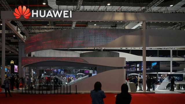 傳華為洽談收購國內小型電動車企 後者否認稱:僅業務合作 (圖:AFP)