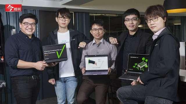 四位輔大資工男做白帽駭客 發現微軟伺服器漏洞名震國際。(圖:今周刊)