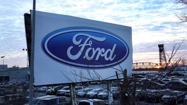 號稱強過特斯拉!傳福特將獲福斯授權MEB電動車技術(圖片:AFP)