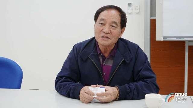 南六董事長黃清山。(鉅亨網記者張欽發攝)