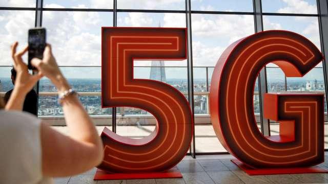 研調:聯發科5G手機晶片市占將翻倍成長 (圖片:AFP)