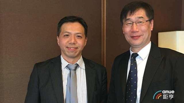 康和證董事長鄭大宇(左)。(鉅亨網資料照)