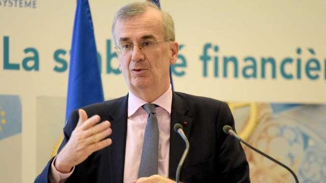 法國央行總裁:勿誇大歐洲企業破產風險 (圖:AFP)
