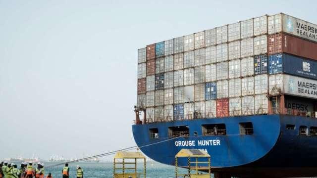 美國3月貿易逆差擴大至744億美元 再攀歷史新高 (圖:AFP)