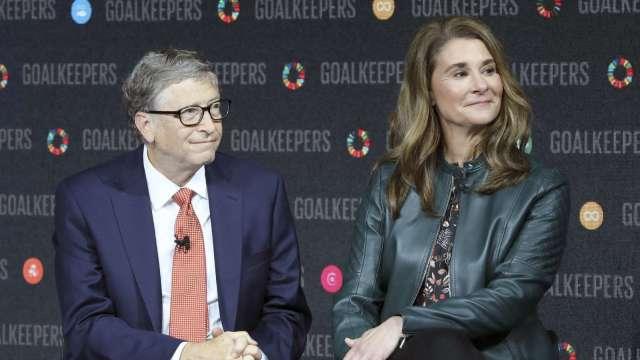 蓋茲夫婦啟動財產分配 18億美元股票已轉到梅琳達名下 (圖:AFP)