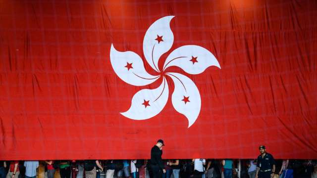 香港4月PMI下滑至50.3 經濟前景預估創7年多來最高(圖片:AFP)